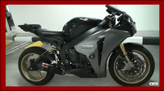 Honda CBR 1000RR Fireblade 2010 with Sony