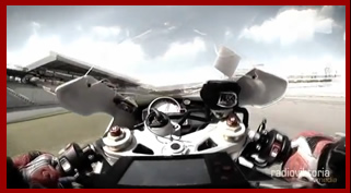BMW S1000RR Gyroscopic camera