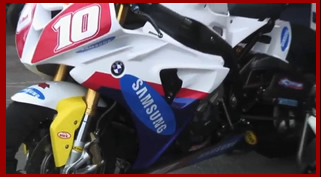 Jon Kirkham British Superstock Champion 2010 Samsung Mobile Racing / Clarks BMW