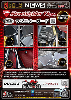 R&G RACING PRODUCTS Streetfighter V4(20-) ラジエターガード